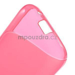 Gélové s-line puzdro pre Samsung Galaxy Ace 4 - ružové - 4