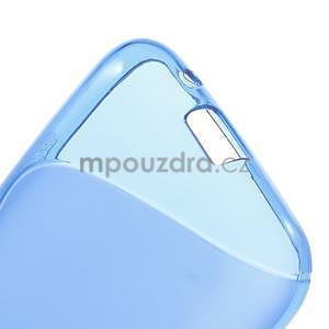 Gélové s-line puzdro pre Samsung Galaxy Ace 4 - modré - 4