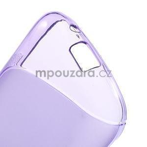 Gélové s-line puzdro pre Samsung Galaxy Ace 4 - fialové - 4