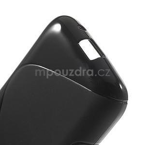 Gélové s-line puzdro na Samsung Galaxy Ace 4 - čierné - 4