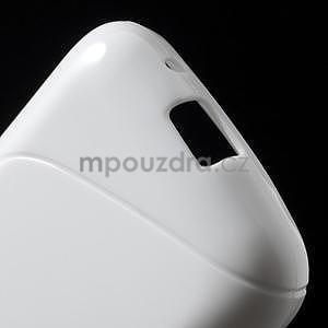 Gélové s-line puzdro na Samsung Galaxy Ace 4 - biele - 4