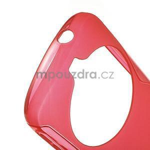 Červený s-line gélový kryt na Samsung Galaxy K Zoom C115 - 4