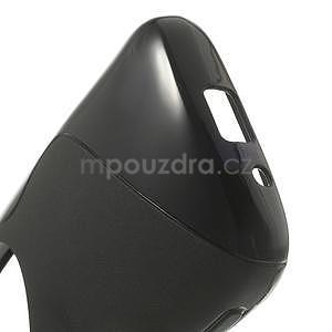 Čierny s-line gélový kryt pre Samsung Galaxy K Zoom C115 - 4