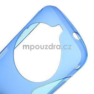 Modrý s-line gélový kryt na Samsung Galaxy K Zoom C115 - 4