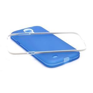 Gelové pouzdro 2v1 na Samsung Galaxy S4 - modré - 4