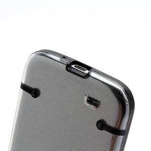 Obal pre mobil se svítícími hranami pre Samsung Galaxy S4 - čierne - 4