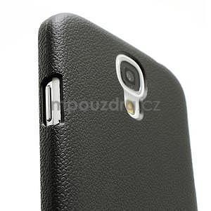 Plastové poudro pre Samsung Galaxy S4 - čierne - 4