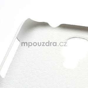 Plastové poudro na Samsung Galaxy S4 - bílé - 4
