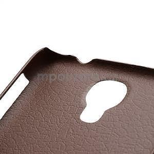 Plastové poudro pre Samsung Galaxy S4 - hnedé - 4