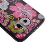 Jells gelový obal na Samsung Galaxy S7 - květiny - 4/6