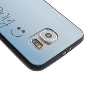 Jells gélový obal pre Samsung Galaxy S7 - be happy - 4