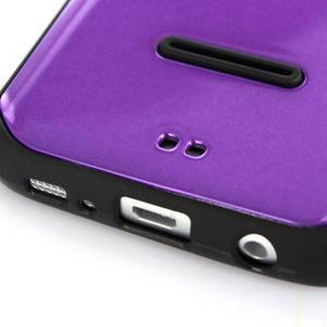 Odolný hybridní kryt na mobil Samsung Galaxy S7 - fialový - 4