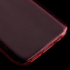Ultratenký gélový obal pre mobil Samsung Galaxy S7 - červený - 4