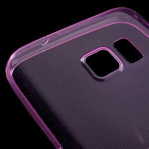 Ultratenký gélový obal pre mobil Samsung Galaxy S7 - ružový - 4