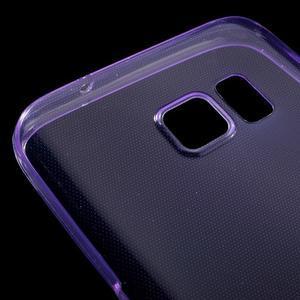 Ultratenký gelový obal na mobil Samsung Galaxy S7 - fialový - 4
