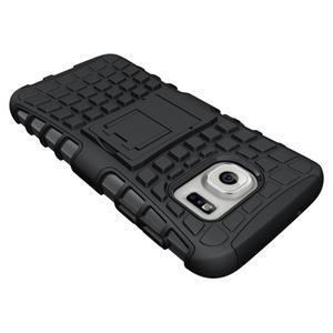 Outdoor odolný obal pre mobil Samsung Galaxy S7 - čierny - 4