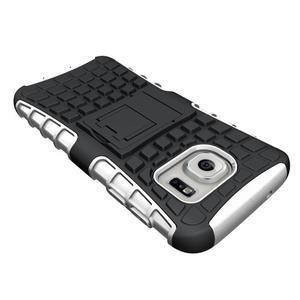 Outdoor odolný obal pre mobil Samsung Galaxy S7 - bielý - 4