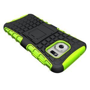Outdoor odolný obal pre mobil Samsung Galaxy S7 - zelený - 4