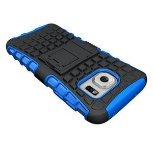 Outdoor odolný obal pre mobil Samsung Galaxy S7 - modrý - 4
