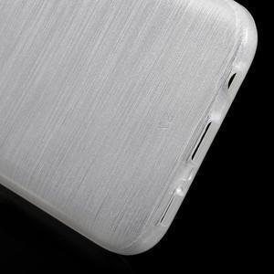 Brush gélový obal pre mobil Samsung Galaxy S7 - biely - 4