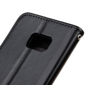 Stand peňaženkové puzdro pre Samsung Galaxy S7 - čierné - 4