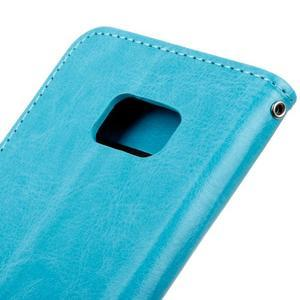 Stand peněženkové pouzdro na Samsung Galaxy S7 - modré - 4