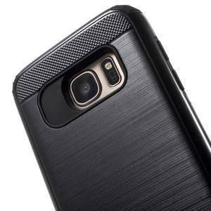 Dvoudílný odolný kryt na Samsung Galaxy S7 - černý - 4