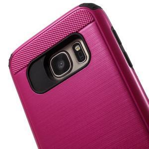 Dvoudílný odolný kryt na Samsung Galaxy S7 - rose - 4