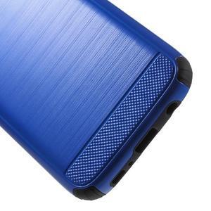 Dvojdielny odolný kryt pre Samsung Galaxy S7 - modrý - 4
