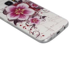 Pictu gelový obal na mobil Samsung Galaxy S7 - květiny - 4