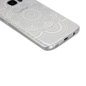 Pictu gelový obal na mobil Samsung Galaxy S7 - květina - 4