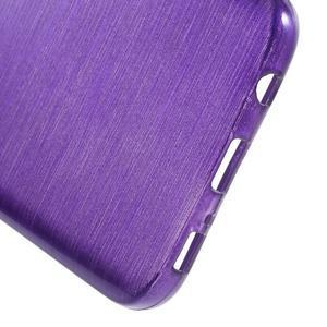 Brush gélový obal pre mobil Samsung Galaxy S7 - fialový - 4
