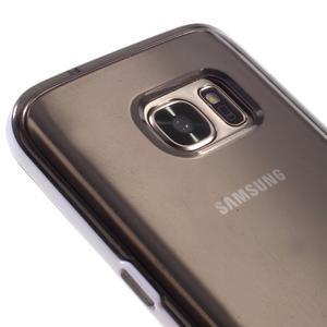 Dvojdielny obal pre mobil Samsung Galaxy S7 - šedý - 4