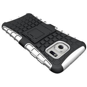 Odolný outdoor kryt na Samsung Galaxy S7 edge - bílý - 4