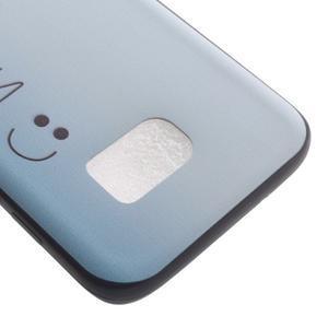 Backy gelový obal na Samsung Galaxy S7 edge - be happy - 4
