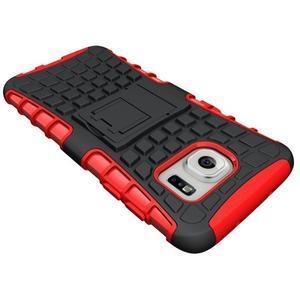 Odolný outdoor kryt pre Samsung Galaxy S7 edge - červený - 4