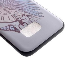 Backy gélový obal pre Samsung Galaxy S7 edge - hodiny - 4
