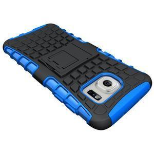 Odolný outdoor kryt pre Samsung Galaxy S7 edge - modrý - 4