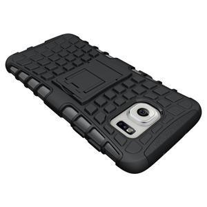 Odolný outdoor kryt na Samsung Galaxy S7 edge - černý - 4