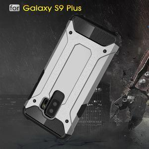 Armory odolný hybridný obal na Samsung Galaxy S9 Plus - zlatý - 4