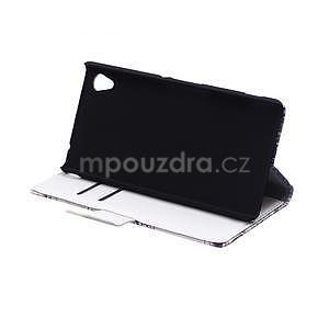 Pěněženkové pouzdro pro Sony Xperia M4 Aqua - modní styl - 4