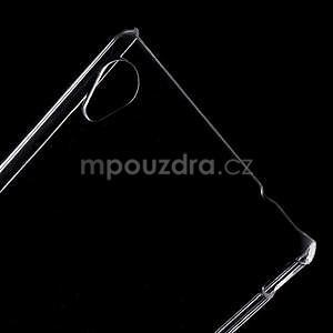 Transparentní plastový obal na Sony Xperia M4 Aqua - 4