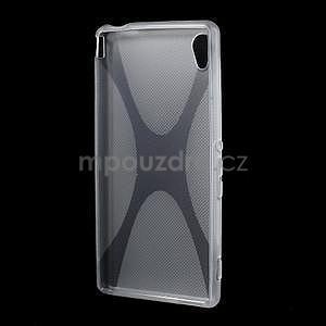 transparentné gélový obal pre Sony Xperia M4 Aqua - 4