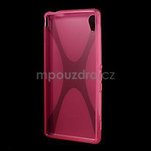 Rose gélový obal pre Sony Xperia M4 Aqua - 4