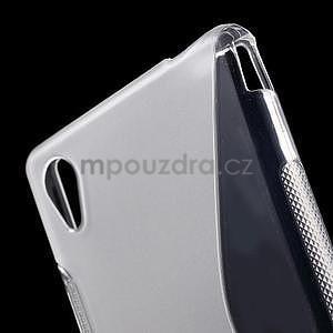 transparentné s-line pružný obal pre Sony Xperia M4 Aqua - 4