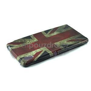 Gelový kryt na Sony Xperia M4 Aqua - UK vlajka - 4