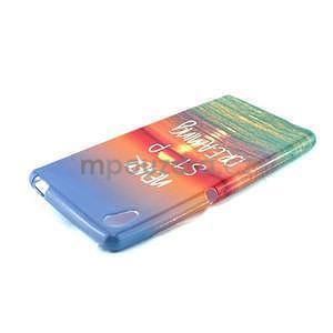 Gelový kryt na Sony Xperia M4 Aqua - snění - 4