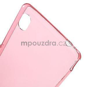 Červený ultra tenký obal na Sony Xperia M4 Aqua - 4