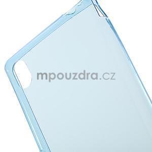 Modrý ultra tenký obal na Sony Xperia M4 Aqua - 4