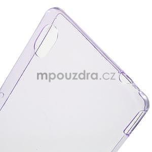 Fialový ultra tenký obal na Sony Xperia M4 Aqua - 4